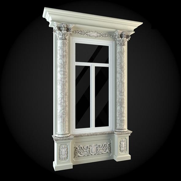 Window 018 - 3DOcean Item for Sale