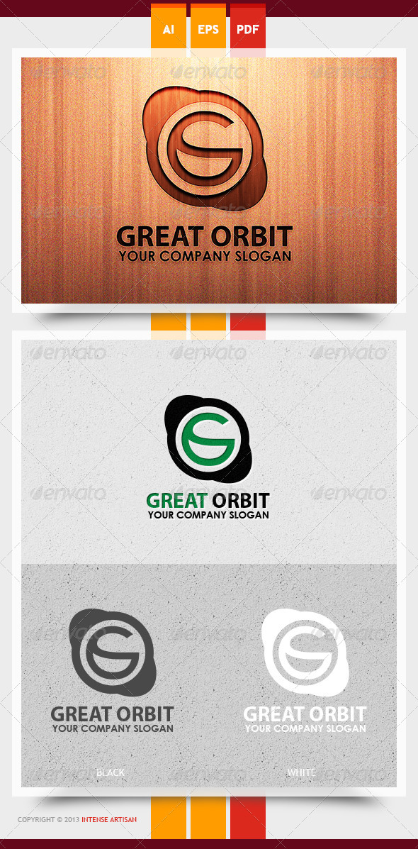 GraphicRiver Great Orbit Logo Template 5993832