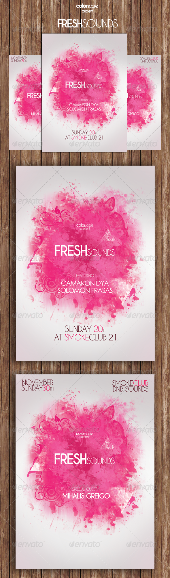 GraphicRiver FreshSounds Flyer 5993944