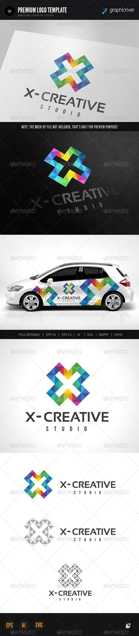 GraphicRiver X Creative Logo 5993987