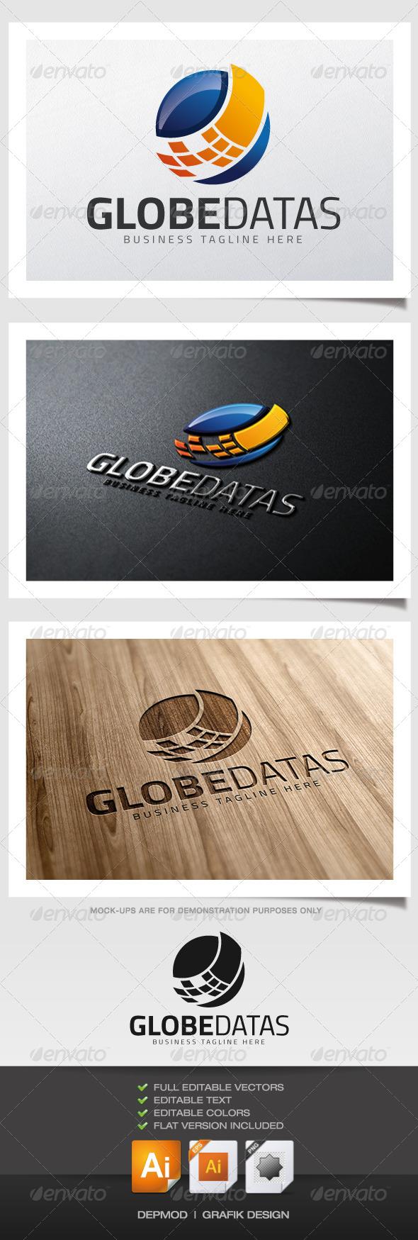 Globe Datas Logo