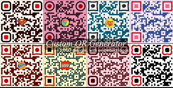 CodeCanyon Advanced Custom QR Code Generator 5979898