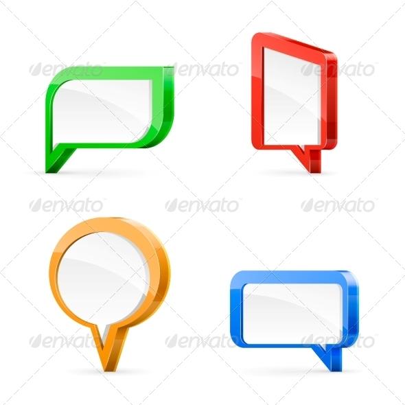 GraphicRiver Speech Bubbles 5994394