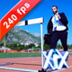 Jumping Over A Hurdle - VideoHive Item for Sale