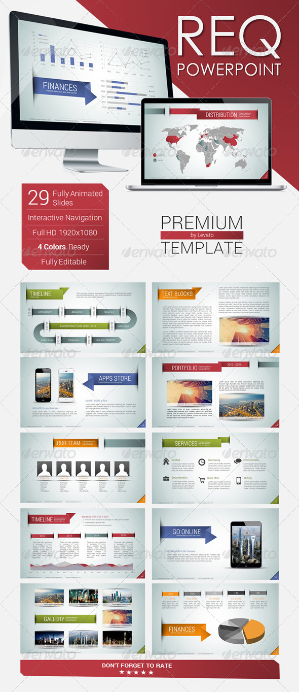 GraphicRiver REQ Powerpoint Template 5906927