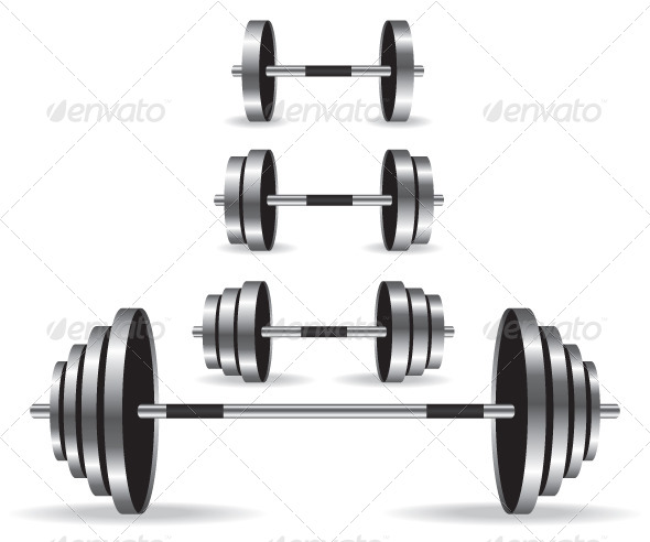 GraphicRiver Weights Collection Illustration 5995276