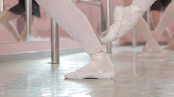 Ballet Girl Legs