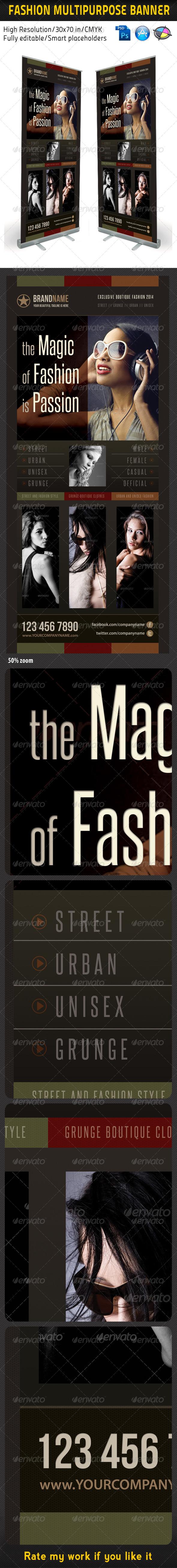 GraphicRiver Fashion Multipurpose Banner Template 11 5977001