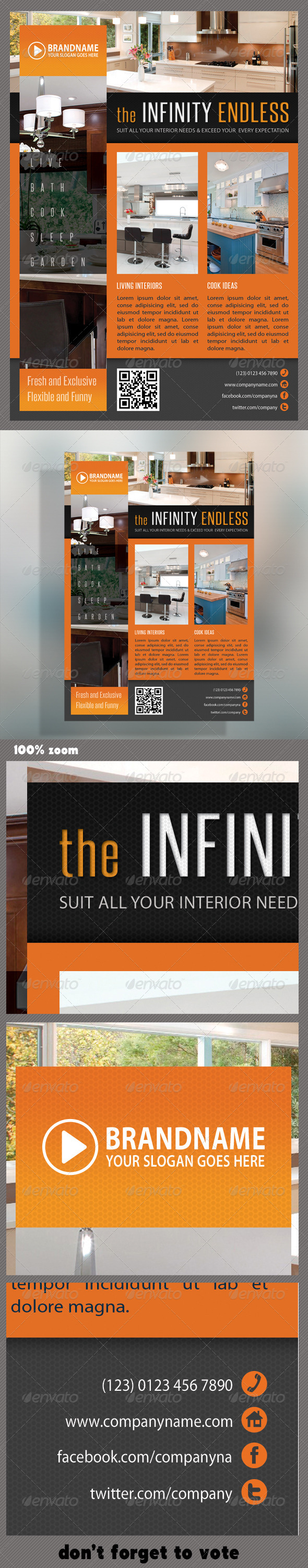 GraphicRiver Corporate Product Flyer 42 5996750