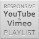Responsive YouTube & Vimeo Playlist - CodeCanyon Item for Sale