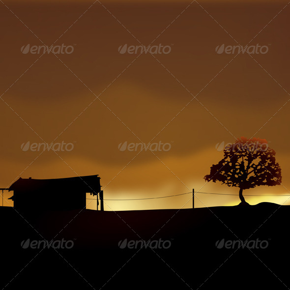 GraphicRiver Lonely House 5989190