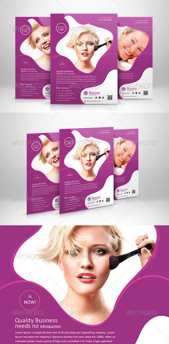 GraphicRiver Corporate Flyer Template 007 5997493