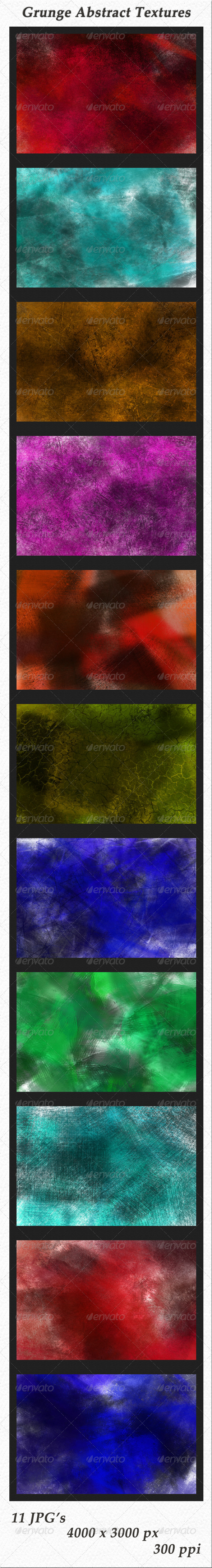 GraphicRiver Grunge Abstract Textures 5997500