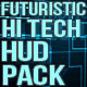 Futuristic Hi Tech HUD Pack - VideoHive Item for Sale