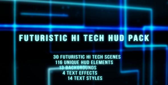 Futuristic Hi Tech HUD Pack
