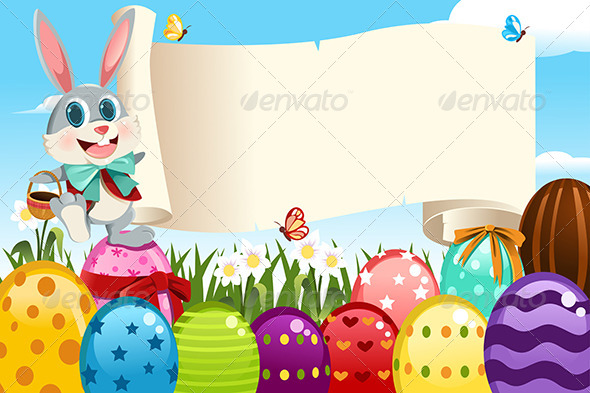 GraphicRiver Easter Bunny 5997908