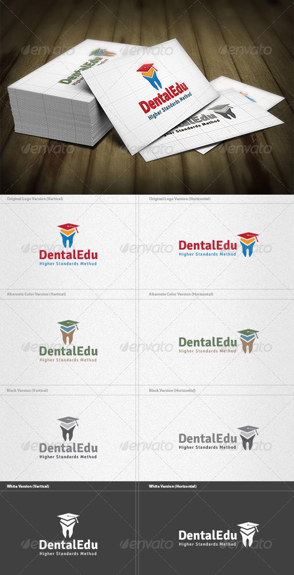 GraphicRiver Dental Education Logo 5997953