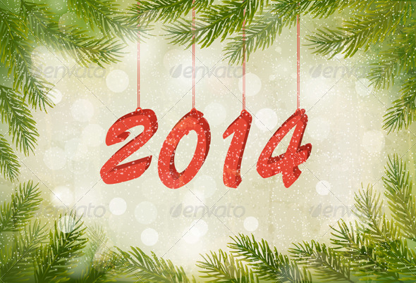 GraphicRiver Happy New Year Design Template 5997954