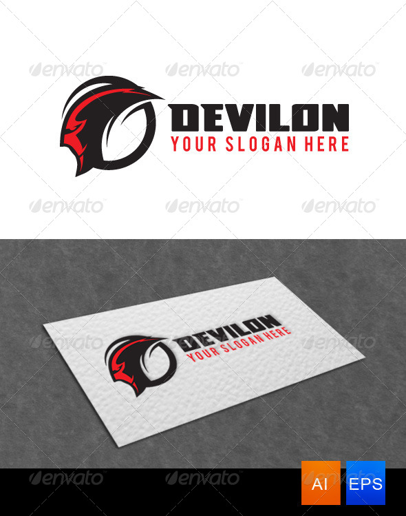 GraphicRiver Devil Logo Template 5997971