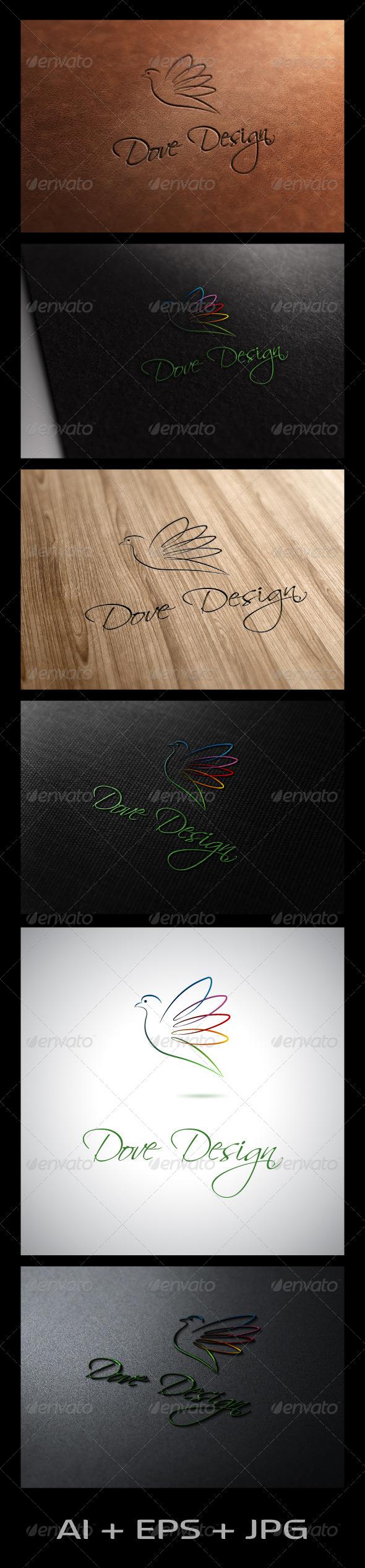 GraphicRiver Dove Design 5987834