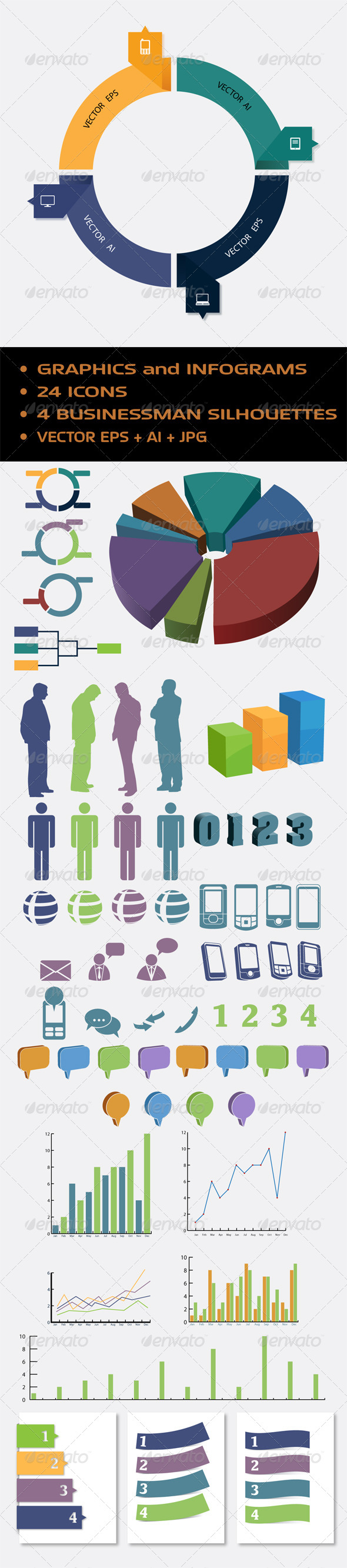 GraphicRiver Abstract Infogram 5997979