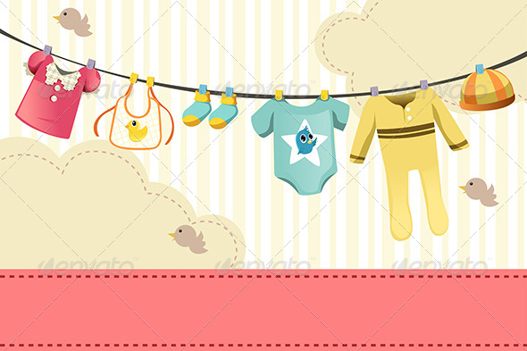 GraphicRiver Baby Clothing 5998228