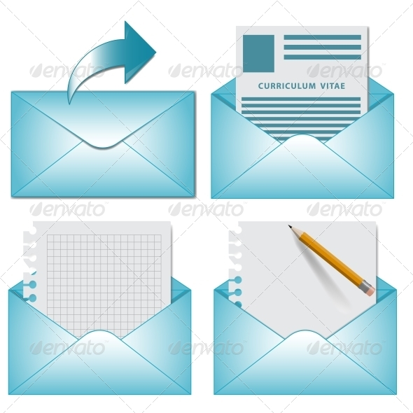 GraphicRiver Vector Envelopes 5999048