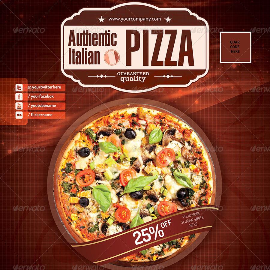 flyers pizza logo seatle davidjoel co
