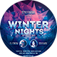 Winter Nights Flyer - GraphicRiver Item for Sale