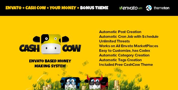 CashCow v2.0 – CodeCanyon Affiliate Based Money Making System