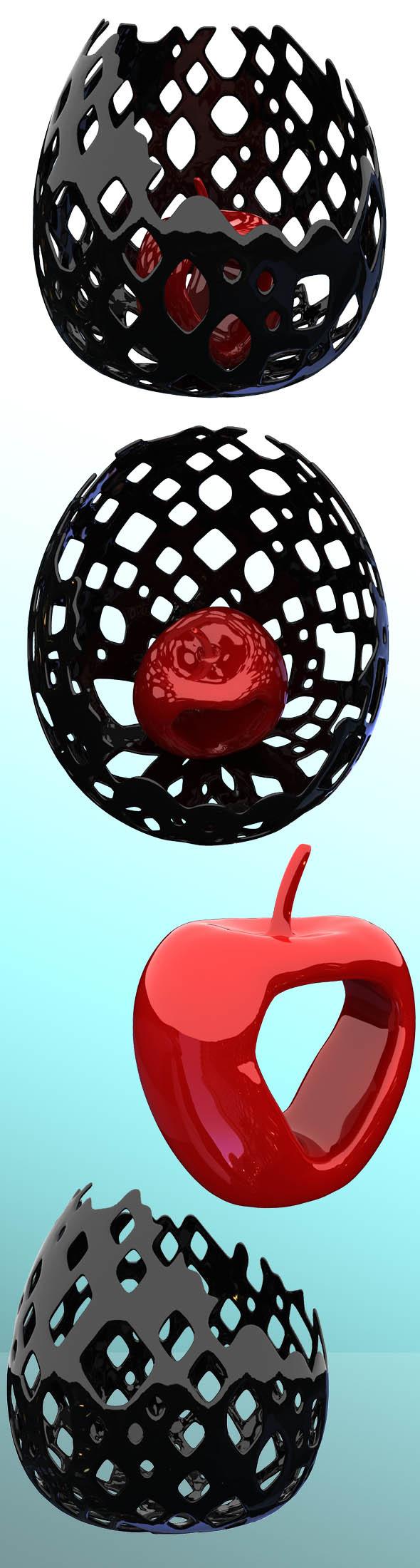 3DOcean Apple in a vase 5999704