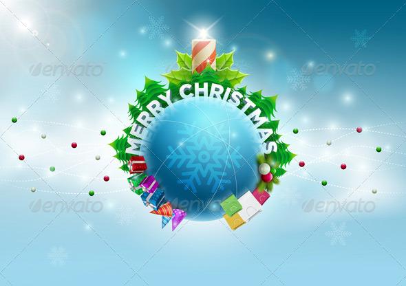 GraphicRiver Christmas World Design 5999723
