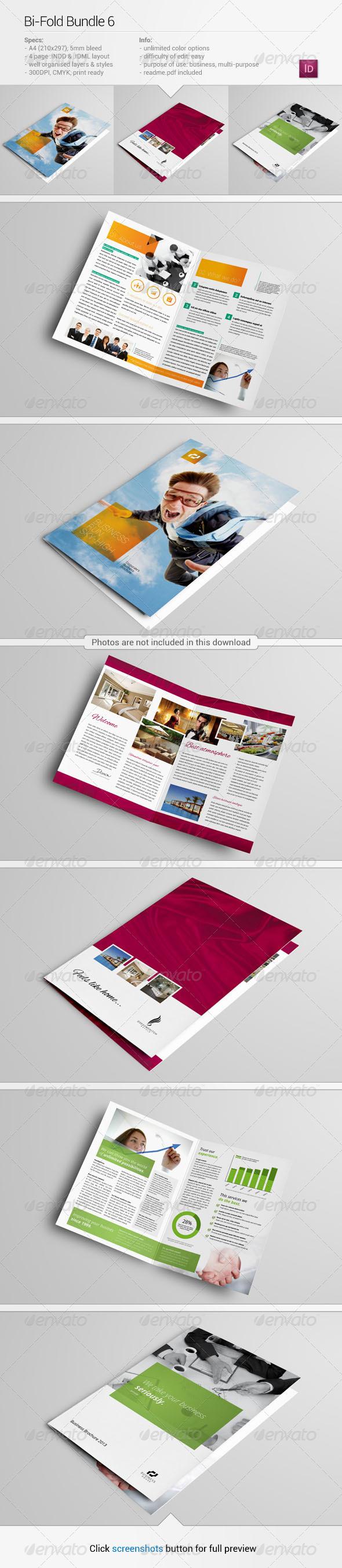 GraphicRiver Bi-Fold Bundle 6 5999830