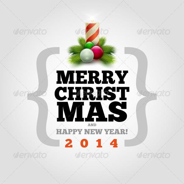 GraphicRiver Modern Christmas Card 5999883