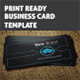 New Brand Business Card Template - GraphicRiver Item for Sale