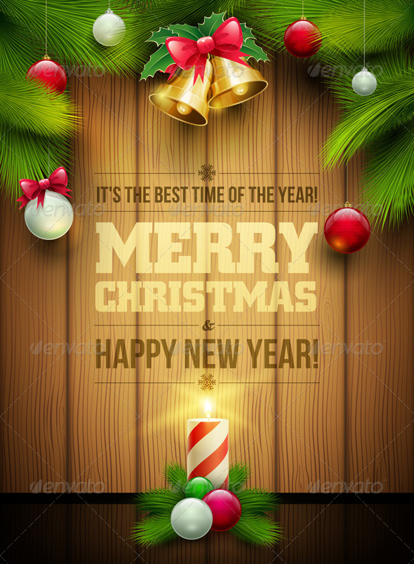 GraphicRiver Christmas Message Board 5999935
