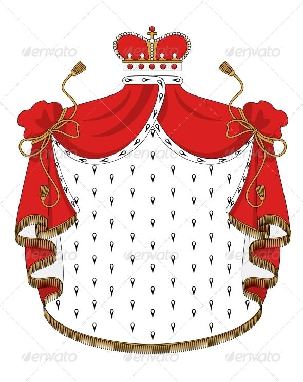GraphicRiver Heraldic Royal Mantle 5999937