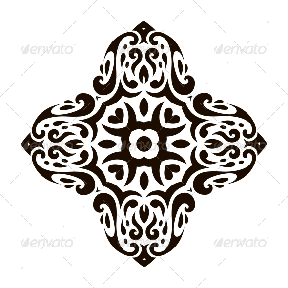 GraphicRiver Abstract Vector Ornament in Tribal Style 6000005