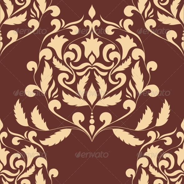 GraphicRiver Damask Seamless Pattern Element 6000011