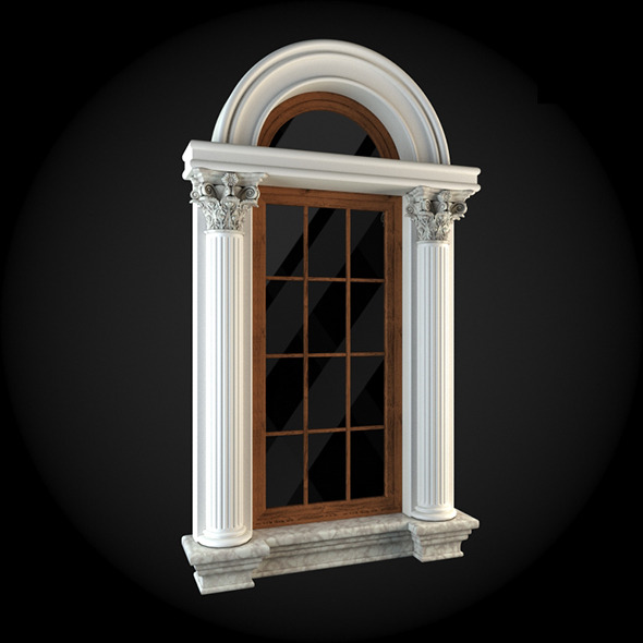 Window 027 - 3DOcean Item for Sale