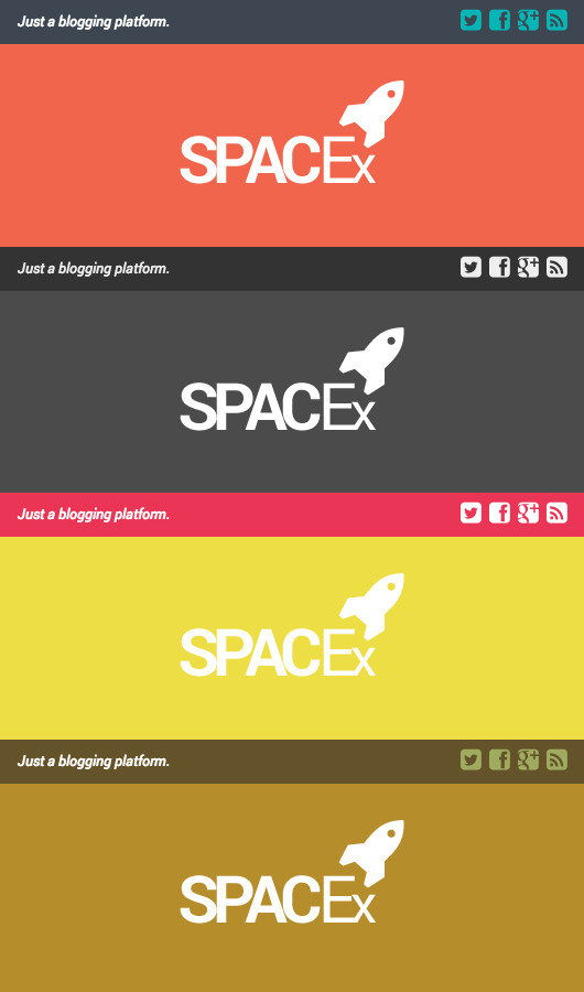 Spacex - Responsive Ghost Theme
