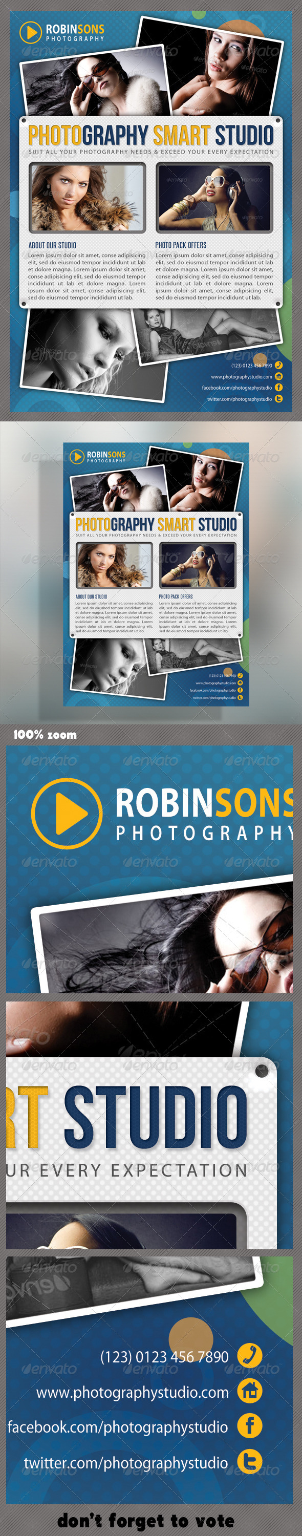 GraphicRiver Corporate Product Flyer 43 6000358