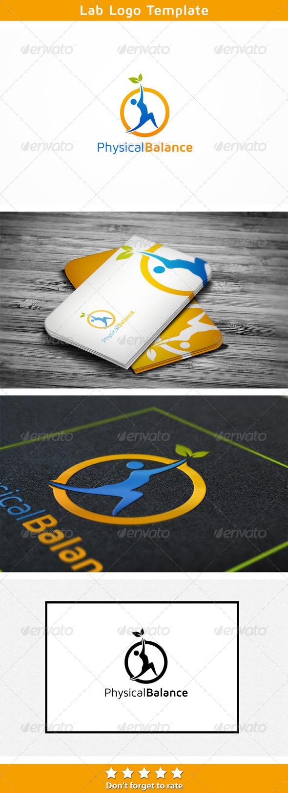 Balanced Exercise - Humans Logo Templates