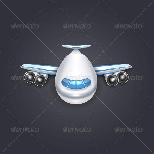 GraphicRiver Airplane 6000388