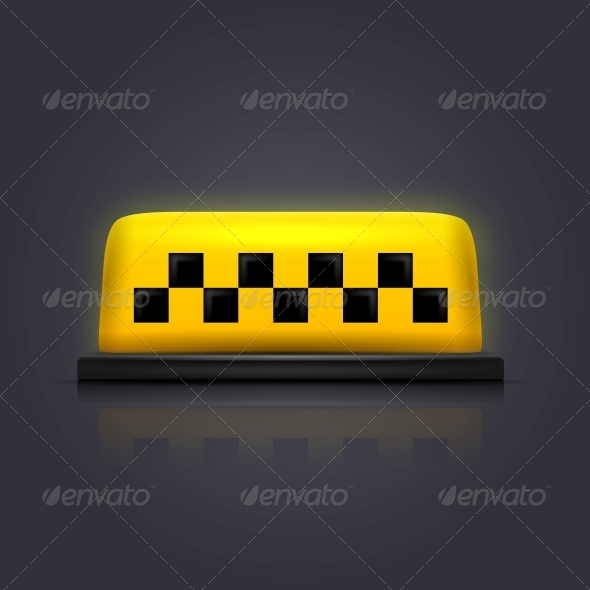 GraphicRiver Taxi Sign 6000390