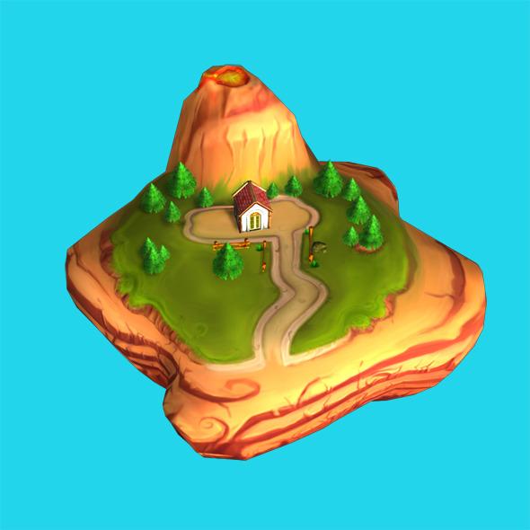 3DOcean Map Cartoon 6000612