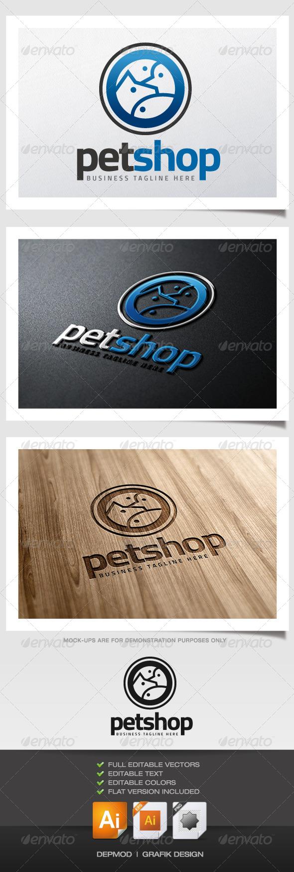GraphicRiver Pet Shop V.03 Logo 6000722