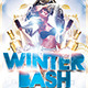 White and Winter Party Flyers