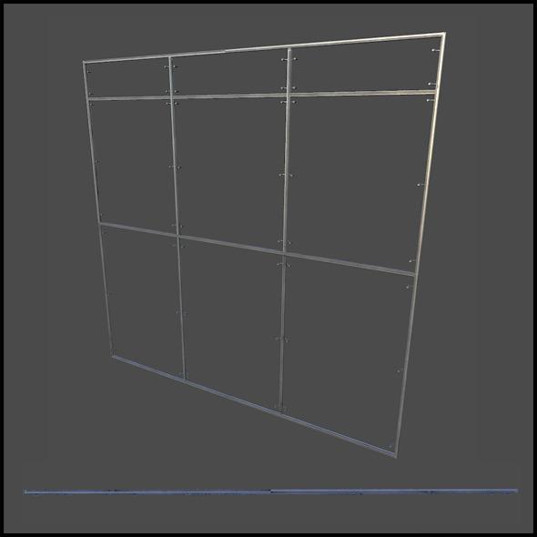 3DOcean Facade Frame 5741289