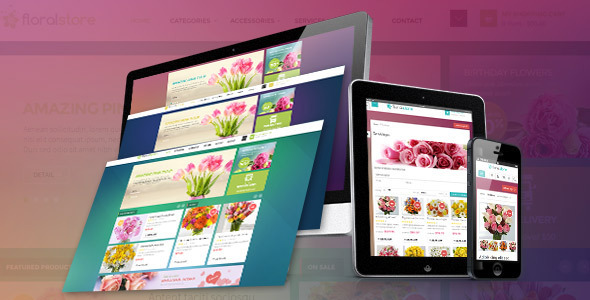 ThemeForest Pav Floral Responsive Opencart Theme 6002728